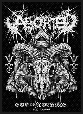 Aborted GOD OF NOTHING Parche/Parche 602741#