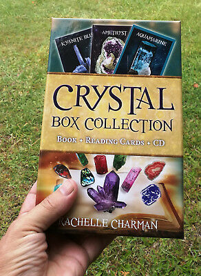 The Complete Crystal Box Collection Set,  Book, Reading Cards, CD by Rachelle