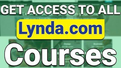 LYNDA.COM Premium Account - Use Your Own Password, Name, and Details - Save $499