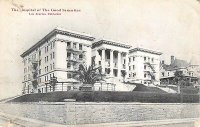 POSTCARD CA LOS Angeles The Hospital Of Good Samaritan 1919 Vtg California  PC