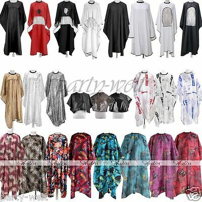 Short Hairdresser Hair Cutting Hairdressing Gown Cape Barber Salon Cloth Nylon