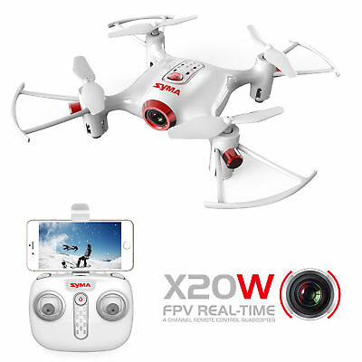 MINI WIFI Camera Drone FPV 2.4Ghz 4CH 6-Axis RC Quadcopter HD RTF Explorer New