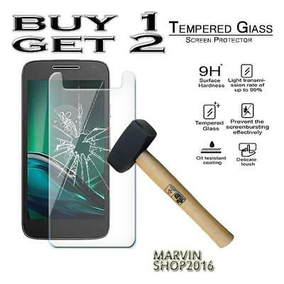 Genuine Tempered Glass Film Screen Protector Cover For Motorola Moto G4 Play
