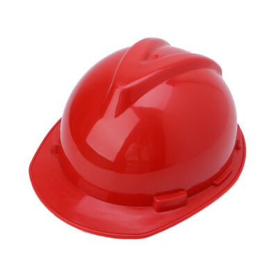 Plastic Construction Worker Hard Hat Outdoor Work Safety Helmet