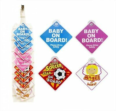 Baby On Board Car Signs - NEW
