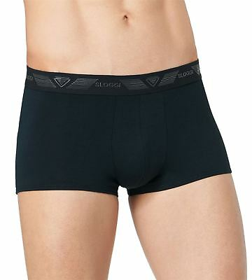 Sloggi Men's Shirt Stop Hipster Silicone Grip Logo Waistband Short Trunk
