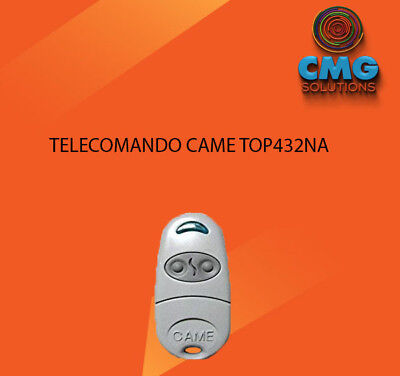 Telecomando Compatibile CAME TOP432NA