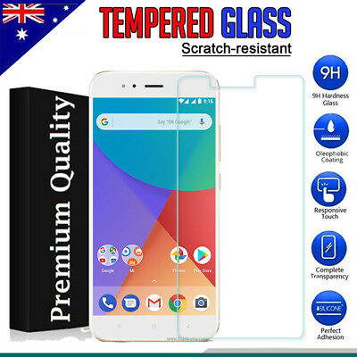 Tempered Glass LCD Screen Protector Film Guard for Xiaomi Mi A1 / 5X