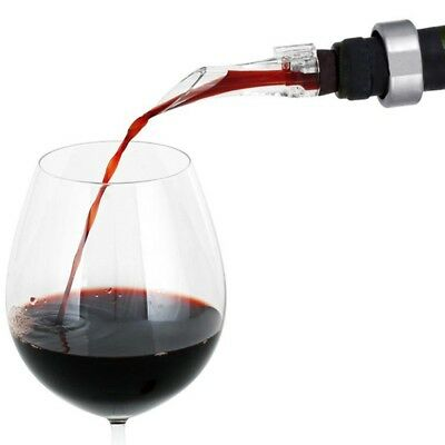 White Red Wine Aerator Pour Spout Bottle Pourer Aerating Decanter