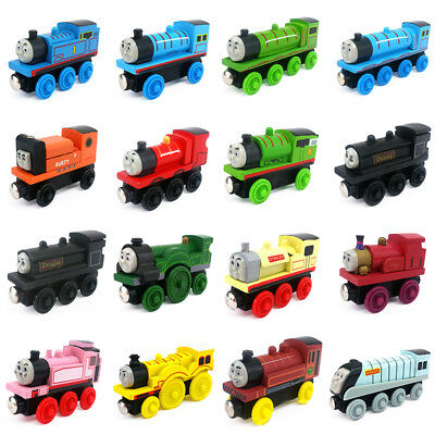 Thomas & Friends Railway Engine & Tender Magnetic Wooden Toy Train Loose Gift