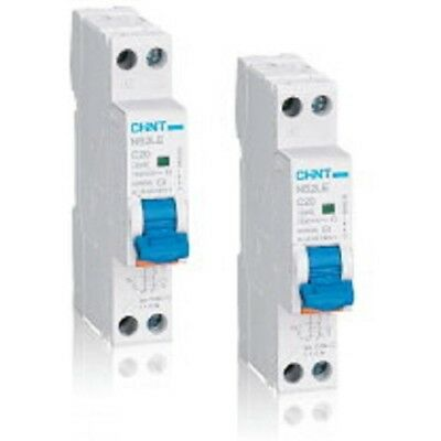 Chint RCBO 25A C Curve 1P+N 1Pole + Neutral Type AC