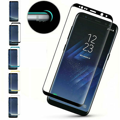 Samsung Galaxy S9 and S9 Plus 3D Full Cover Tempered Glass Screen Protector