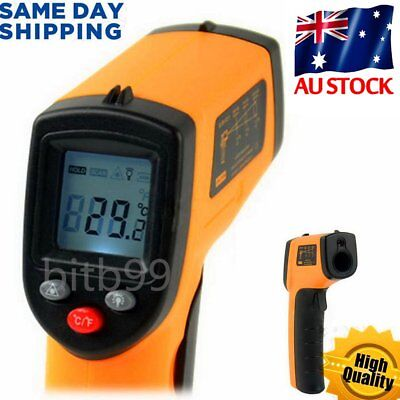 Nice Non-Contact LCD IR Laser Infrared Digital Temperature Meter Thermometer OU