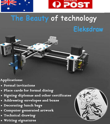 DIY EleksMaker Mini XY 2 Axis CNC Pen Plotter EleksDraw Laser Drawing Machine