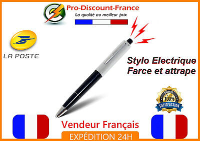 Stylo Electrique Farce et Attrape Blague Shocking Pen Gag Drole Magie