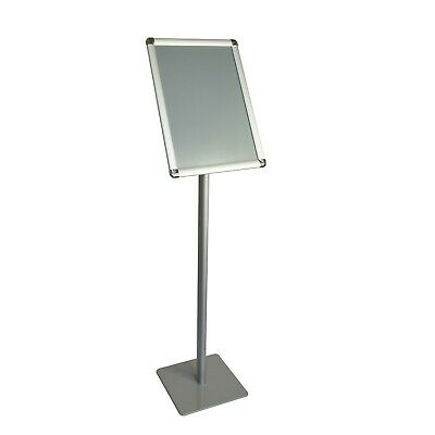 Offex A3 Size Pedestal Floor Standing Poster Sign Holder Display Stand