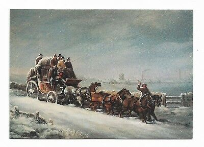 COACHING LINES - National Postal Museum Postcard  965D