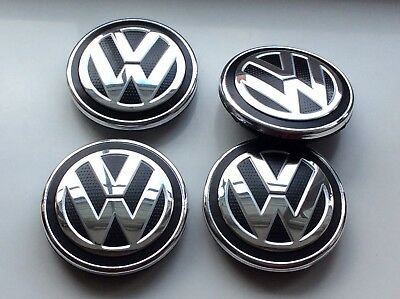 4X VW Wheel Center Cap 5G0601171(65MM) FOR VW GOLF MK 7 GTI GTD R SE MATCH