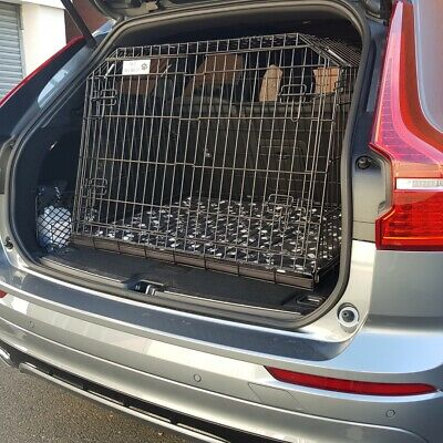 Pet World Volvo Xc60 Suv Travel Crate 2008 Onwards Car Dog Cage Safety Puppy