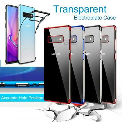 For Samsung Galaxy S10E S10 S9 S8 Plus Clear Case Soft Gel Protective Slim Cover