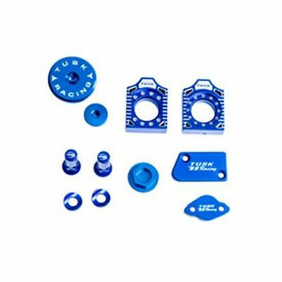 Yamaha YZ125 YZ250 2003–2007 TUSK BILLET BLING KIT Brake Oil Cap Axle Blocks