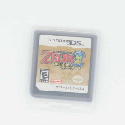 The Legend of Zelda: Phantom Hourglass for DS/NDS/3DS/NDSI/NDSL ship from USA