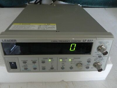 LEADER LF 827 1.3GHz FREQUENCY COUNTER
