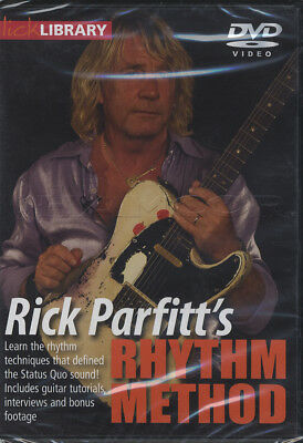 Rick Parfitt Rhythm Method Status Quo Guitar Tuition 2 DVD/CD Set Learn To Play