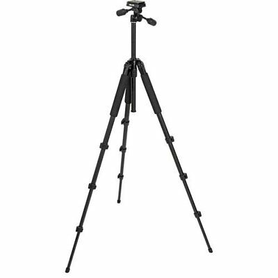 Slik Sprint Pro II Tripod - Black Finish - with Three-way Panhead