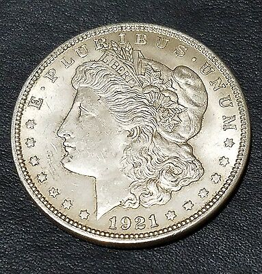 1921 $1 Morgan Silver Dollar