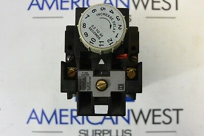 Square D Control Relay 8501Xte1 Series A Class 8501