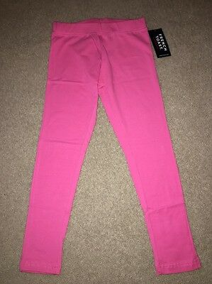 French Toast Big Girls Solid Leggings Shocking Pink Size 6 NWT