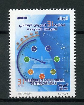 Algeria 2017 MNH National Met Meteorology Office Anniv 1v Set Science Stamps