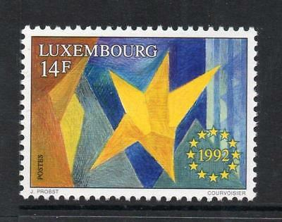 Luxembourg Mnh 1992 Sg1319 Single European Market