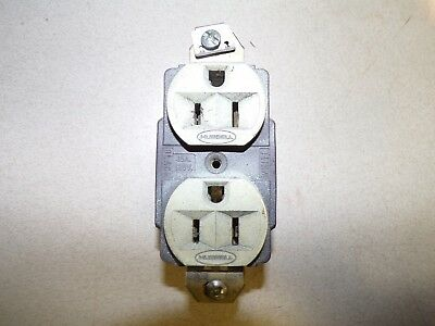 Hubbell Duplex Receptacle 15A125V *FREE SHIPPING*