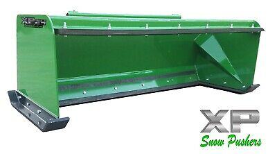 7' Low Pro Pullback John Deere quick attach snow pusher box LOCAL PICK UP -RTR