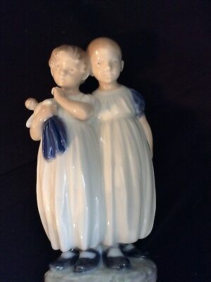 Royal Copenhagen Porcelain Figurine, Girls #939
