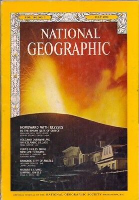national geographic-JULY 1973-ICELAND VOLCANO.