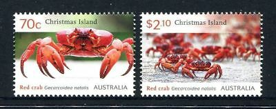 2014 Christmas Island Stamps - Red Crab Migration - MNH set of 2