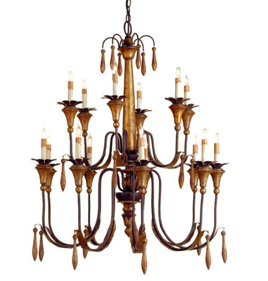 Pair of Currey & Co Chandeliers - $399