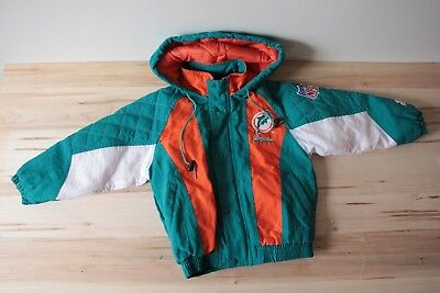 Starter Kids Miami Dolphins youth small NFL Pro Line jacket EXCELLENT CONDITION