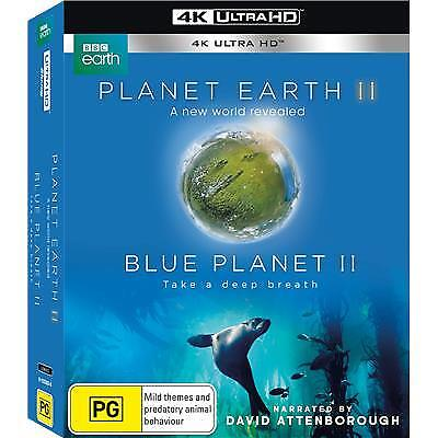 Planet Earth II / Blue Planet II (2017) (4K Ultra HD Blu-ray) (Region B) New