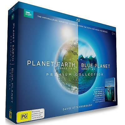 Planet Earth / Blue Planet Collection (2017) (Blu-ray) (Region B) New Release