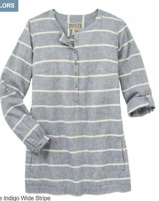 0923e31cf04 NEW DULUTH TRADING Women s Hemp Tunic Nwt -  39.99