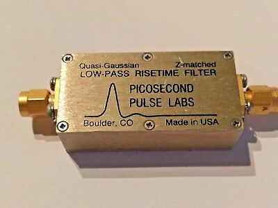 Picosecond Pulse Labs PSPL Low-Pass Risetime Filter 5905-870 Z-matched 870 Mhz