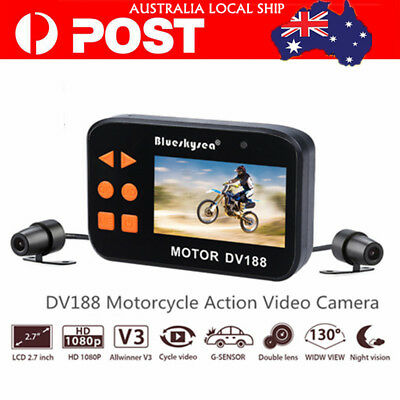 DV188 Camera Motorcycle Bike 1080p HD Video DVR Camcorder Action Video Cam Local