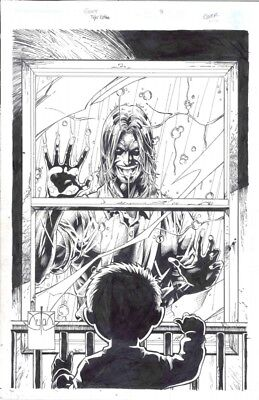 RARE 3rd ever published cover by Tyler Kirkham The Gift 3 Original Art Cover