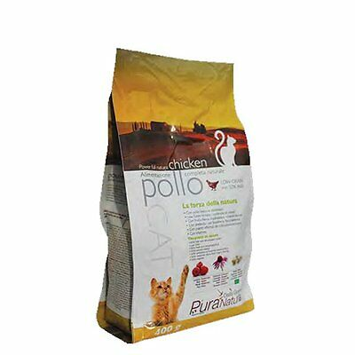 Pure Nature Cover Croquettes Cat Adult 400Gr Chicken Food Cat