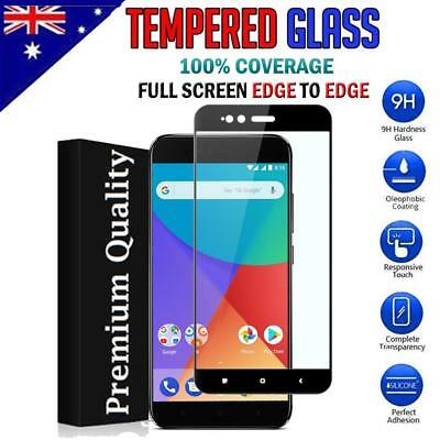 """Full Coverage Tempered Glass Screen Protector For Xiaomi Mi A1 / 5X 5.5"""""""