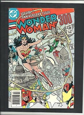 Wonder Woman #300 GIANT SIZED 1st Appearance Lyla Trevor Later Becomes Fury  DC